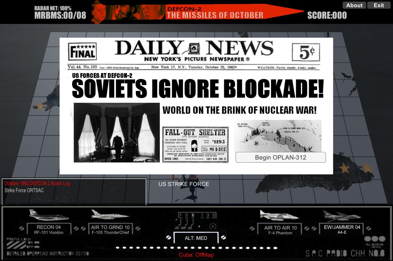 digitalGameworks DefCon-2 The Missiles of October Next Look