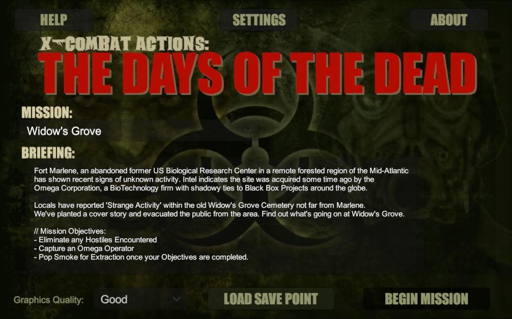X-Combat Actions: The Days of the Dead