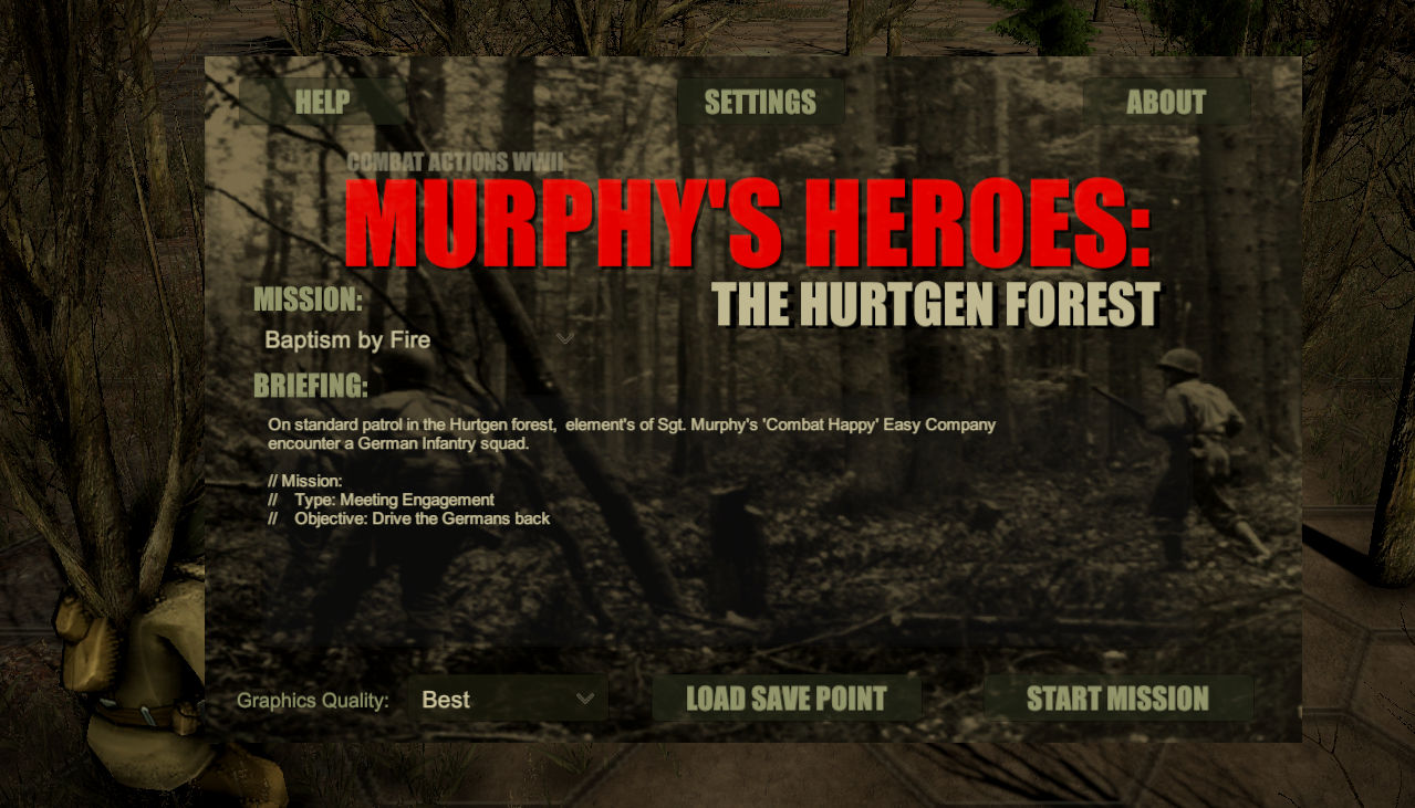 Murphy's Heroes: The Hurtgen Forest